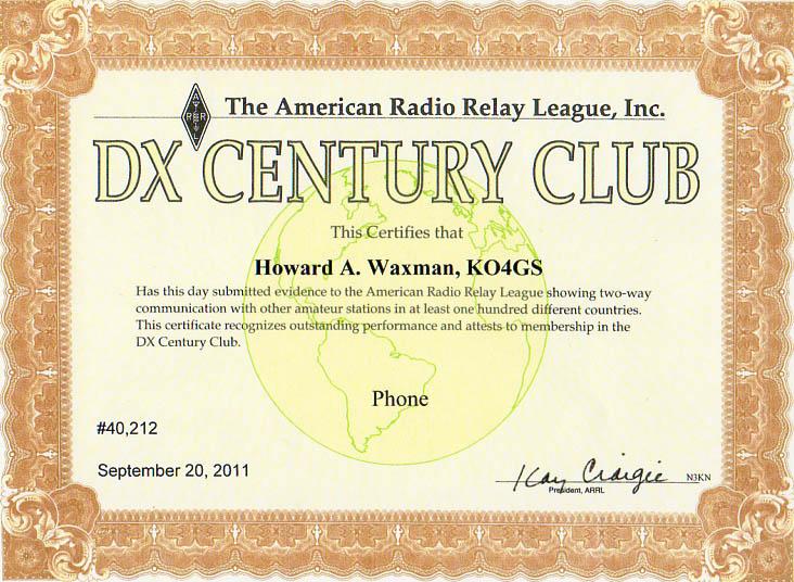 KO4GS-DXCC