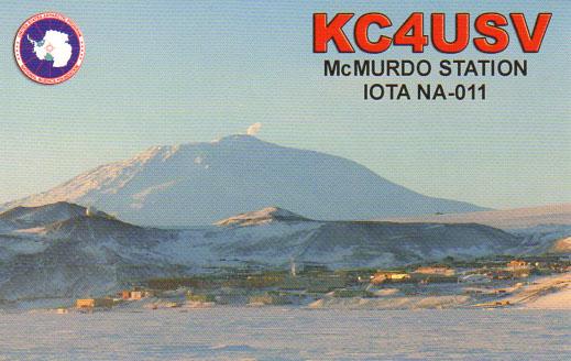 KC4USV - Antarctica