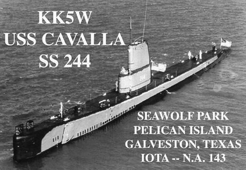 KK5W USS Cavalla SS-244