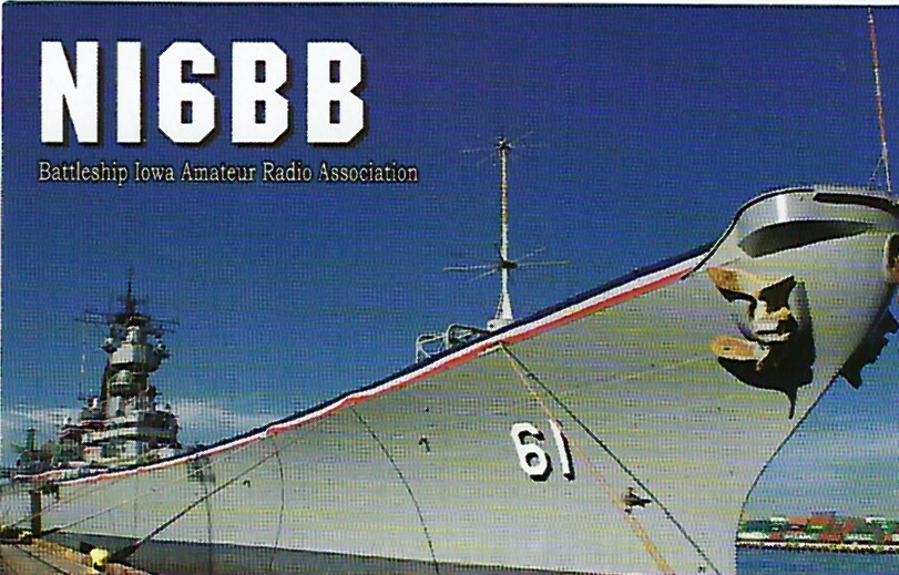 NI6BB - BB61 Iowa