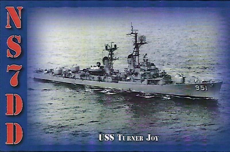 NS7DD - USS Turner Joy