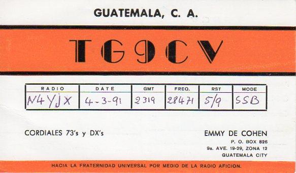 TG9CV
