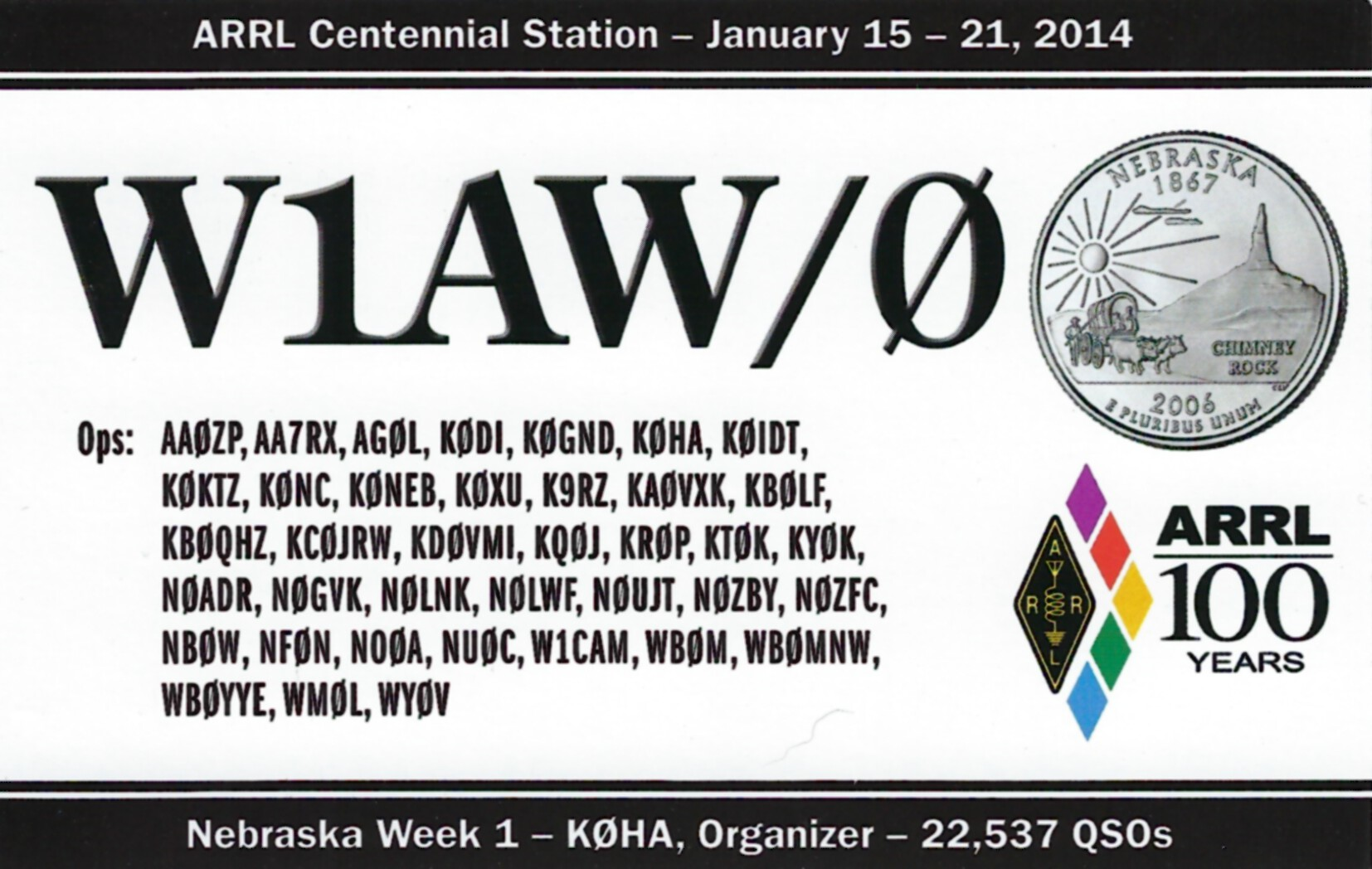 W1AW-0 NE
