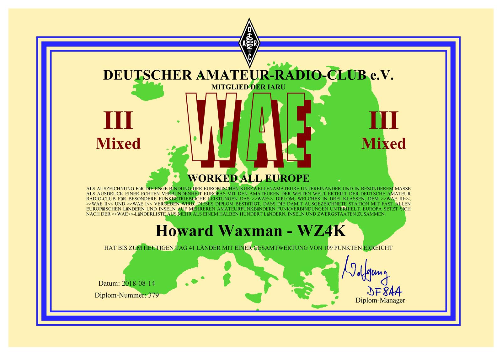 WAEsm