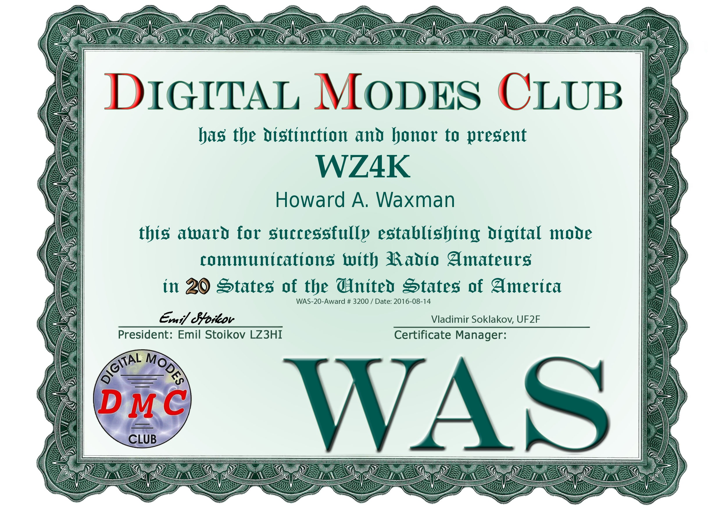 WAS-20-3200-WZ4K