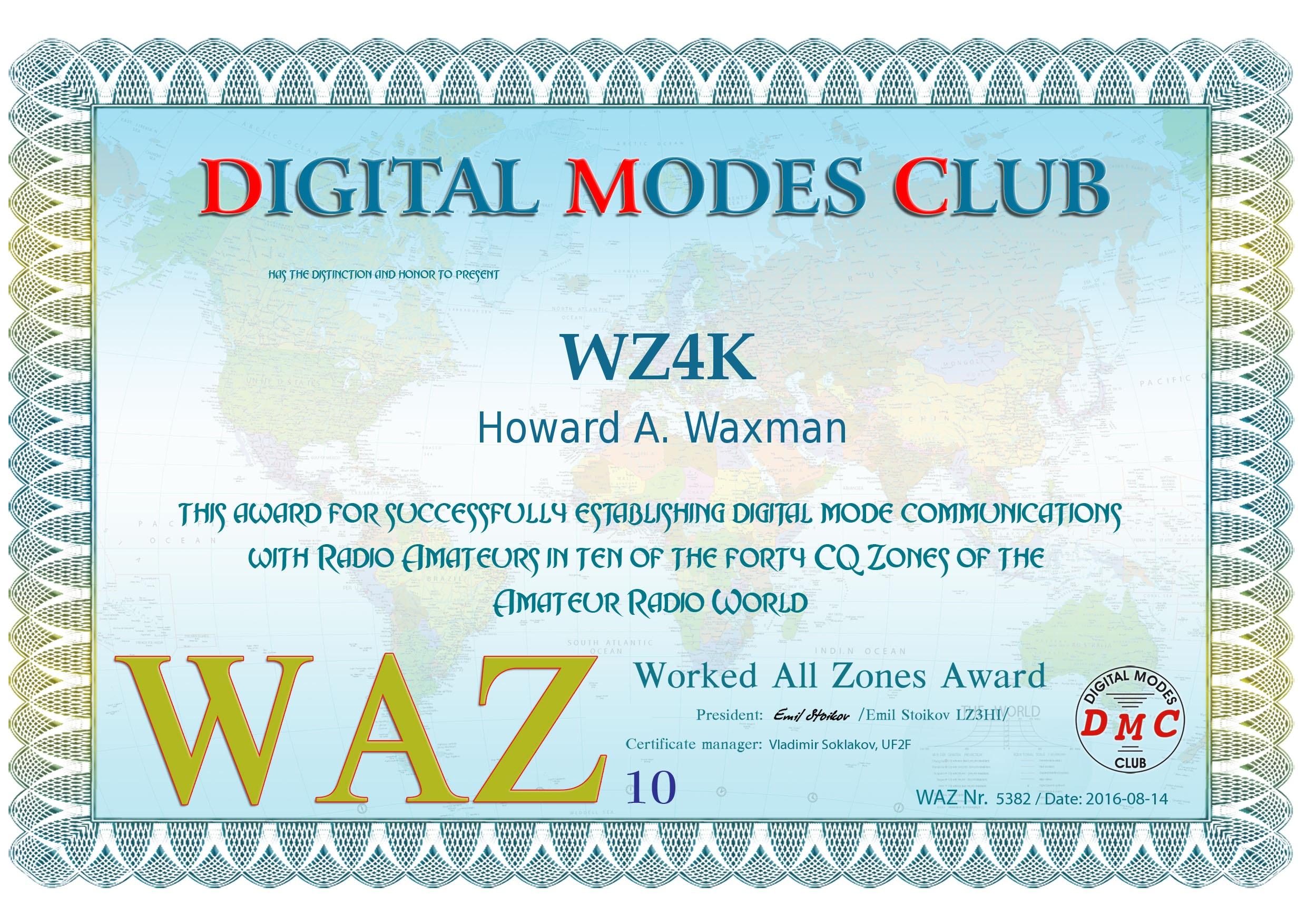 WAZ-10-5382-WZ4K