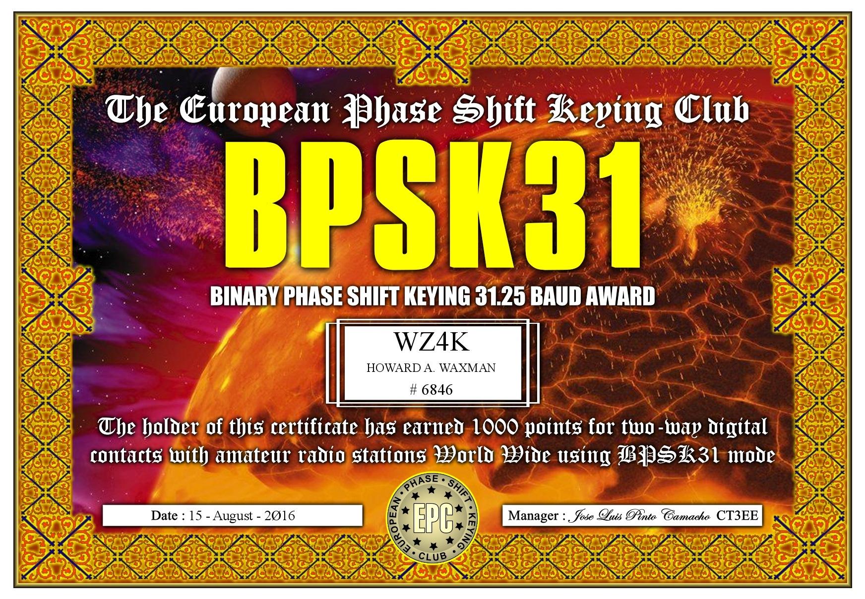WZ4K-BQPA-BPSK31