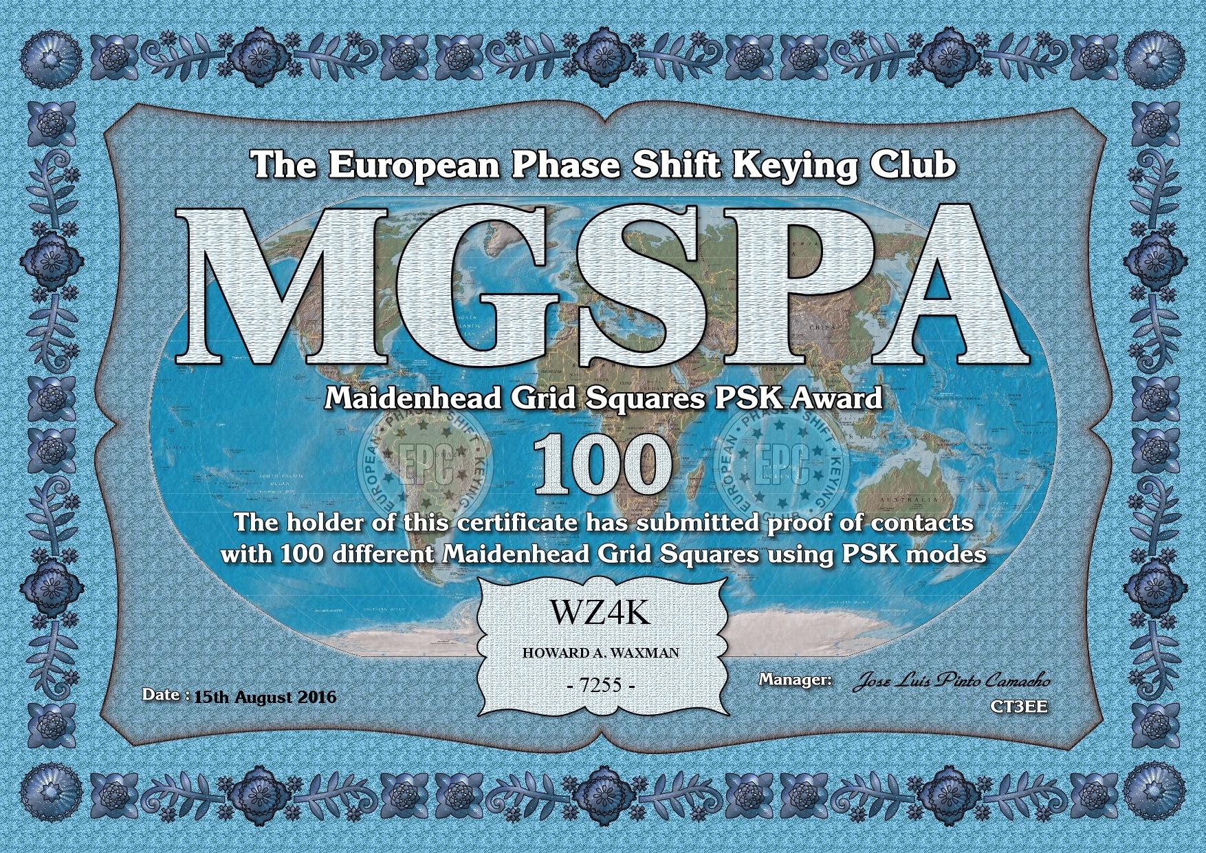 WZ4K-MGSPA-100