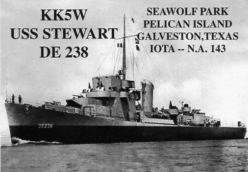 KK5W USS Stewart DE-238