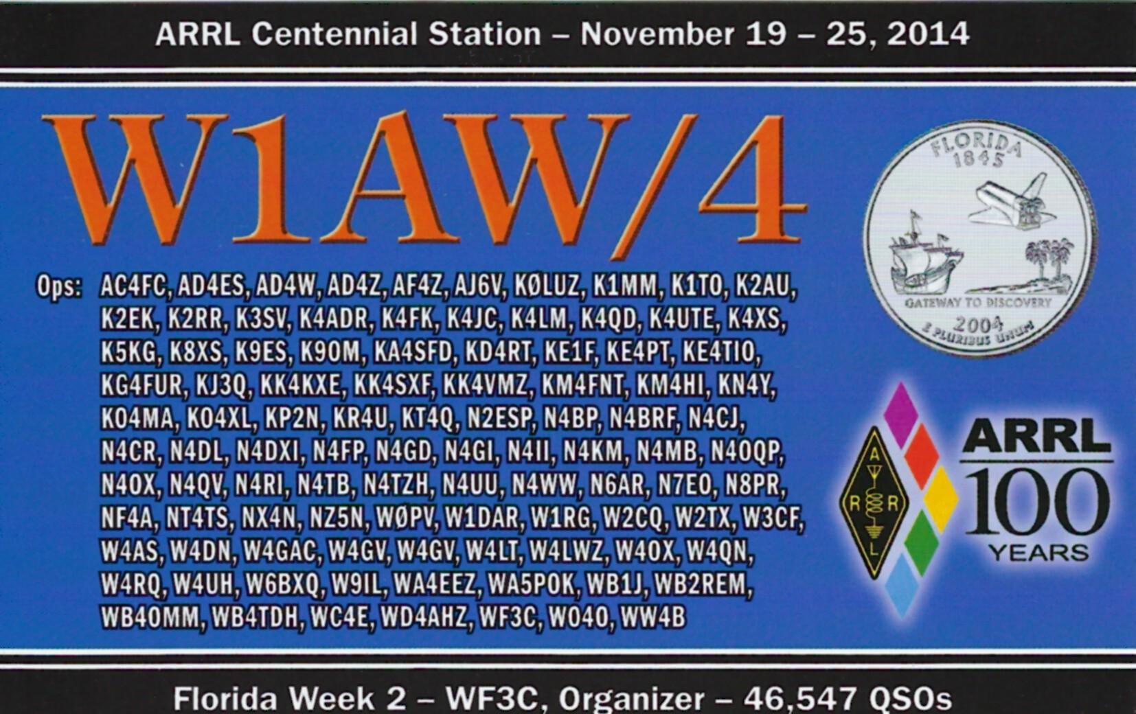 W1AW-4 FL