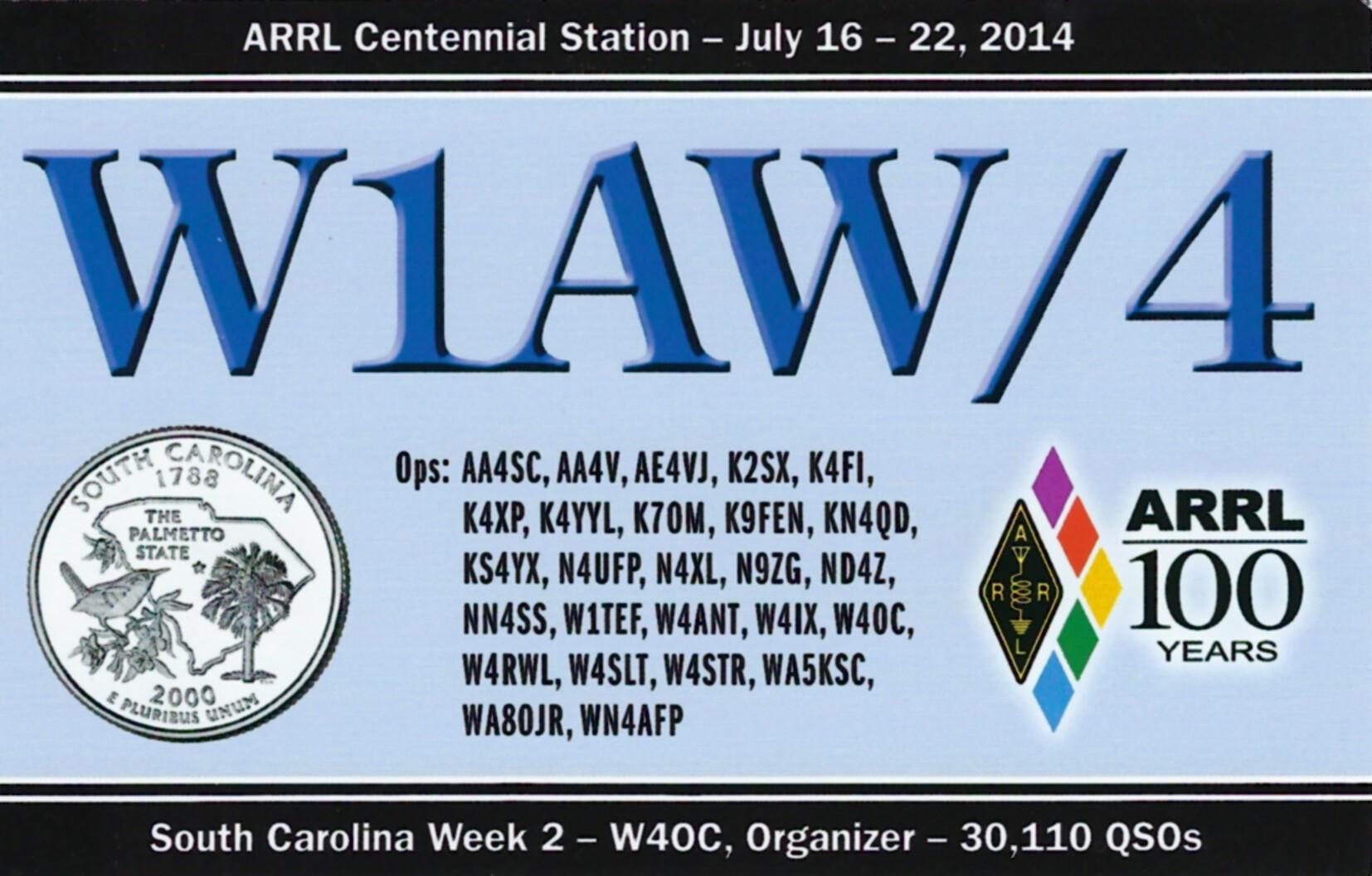 W1AW-4 SC2