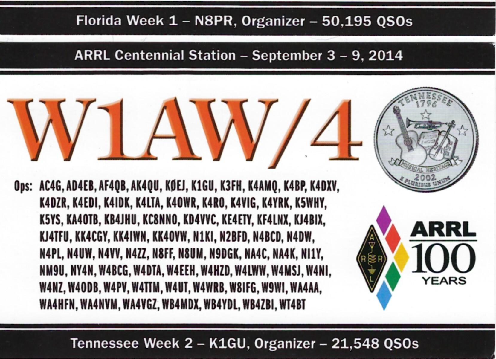 W1AW-4 TN2